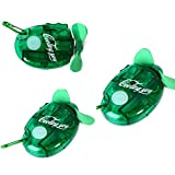Xcellent Global 3 PCS Battery-operated Mini Handheld Water Spray Fan With Bottle Water