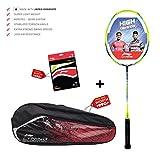 Li-Ning  TURBO X 80-II (AYPM096-4)  Unstrung Badminton Racquet ( Black/green , S1 , 85-87 grams , 28-30 lbs )