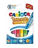 Carioca42738Lot de 12crayons de peinture