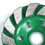 Latinaric 100mm Diamant Schleiftopf Beton Schalen Rad Disc Betonmauerstein Trennscheibe - 7