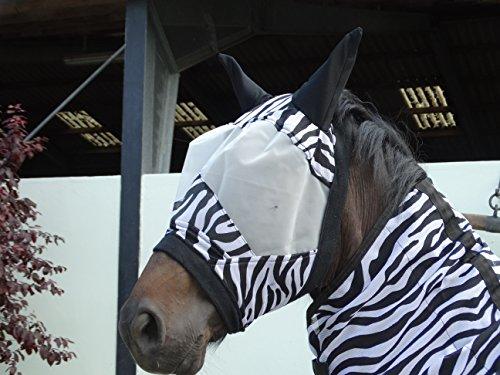 Rutis Tierwelt Fliegenmaske Zebra Design (Cob)
