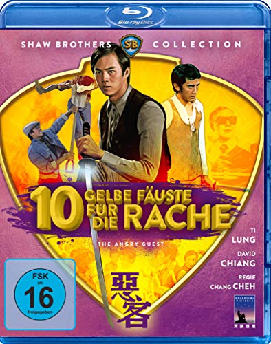 Zehn gelbe Fäuste für die Rache - The Angry Guest (Shaw Brothers Collection) (Blu-ray) - Hill Ti
