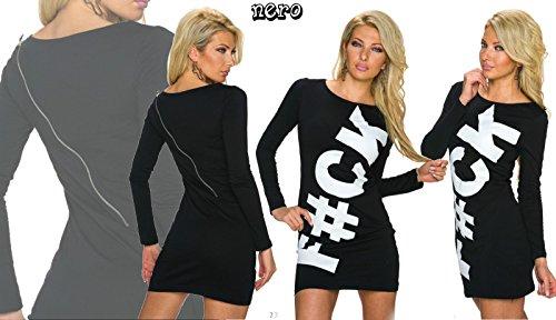 IL BAZAR Damen Kleid One size Schwarz