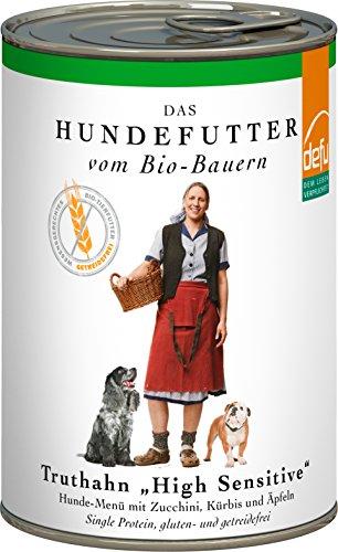 defu-Bio-Hundefutter-Nassfutter-getreidefrei-mit-saftigem-Truthahn-Hundefutter-mit-hohem-Fleischanteil-von-87-Prozent