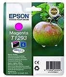 Epson T129 Serie Mela, Cartuccia Originale Getto d'Inchiostro DURABrite Ultra, Formato Standard, Magenta, con Amazon Dash Replenishment Ready