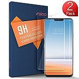 SLEO Protector de Pantalla LG G7/LG G7 ThinQ, Vidrio Templado Anti-Reflejo con Alta Dureza y Alta Transparencia para LG G7/LG G7 ThinQ - 2 Pack