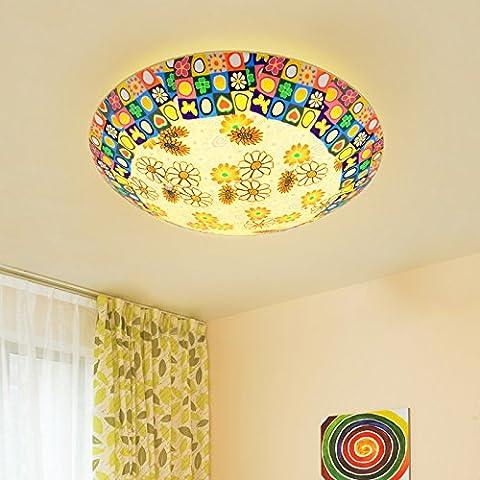 BBSLT Giardino di natale, camera da letto, luce da soffitto, caldo, romantica terrazza, corridoio, (30*8cm) - Ash Tonalità Legno