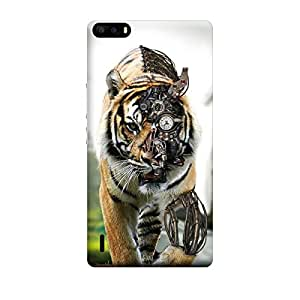 CaseLite Premium Printed Mobile Back Case Cover With Full protection For Huawei Honor 6 Plus (Designer Case)