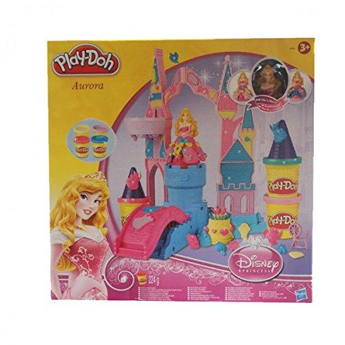 h Disney Princess Magisches Schloss Glitzer Prinzessin Knete (Knete Prinzessin)