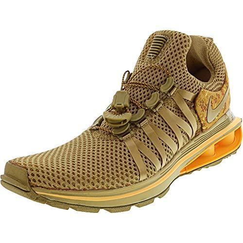 NIKE Womens Shox Gravity Metallic Gold Running Shoe AQ8854-700 (8 B(M) US) (Shox Womens Shoes)