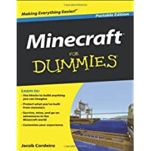 Minecraft For Dummies by Jacob Cordeiro (12-Apr-2013) Paperback