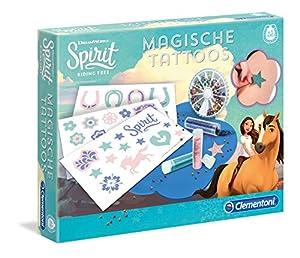 Clementoni 59103Spirit-Magische Tatuajes, más Colores