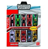 #9: Infinxt Multicolor Mini Toy Cars For Kids Gift & Return Gift (Set of 10)