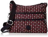 Kipling Alvar, Women's Cross-Body Bag, Multicolour (Pink Chevron), 15x24x45 cm (W x H x L)