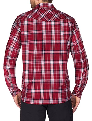 VAUDE Herren Hemd Algund LS Shirt salsa