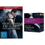 Fifty Shades of Grey - Gef�hrliche Liebe (Unmaskierte Filmversion) + Fifty Shades of Grey. Die Gesamtausgabe (Teil 1-3): Enth�lt: Geheimes Verlangen, Gef�hrliche Liebe und Befreite Lust Bild