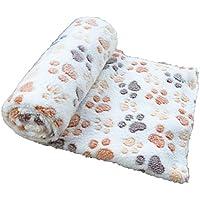 Mascota almohadilla almohadilla perro manta otoño e invierno cálida manta terciopelo coral grueso
