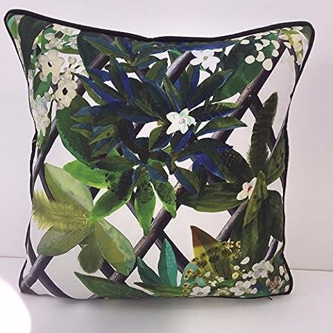 Designers Guild Christian Lacroix, tropischen Kissenbezug Himmel in Malachit 16x 16–Einen auffälligen Ergänzung für jeden Sommer House