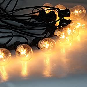 Outdoor Led Festoon Fairy String Lights With 10 Bulbs And
