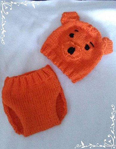 Strickanleitung Babyhose und Babymütze Teddy im Set: Auch für Anfänger