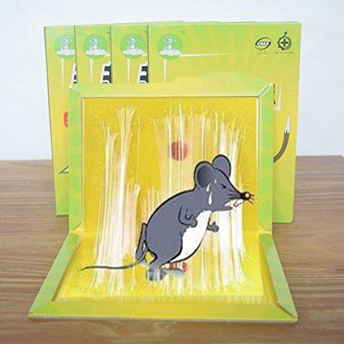 AISHUAIGE Super Starke Sticky Mouse Bord Ungiftig Kakerlaken Moskito Nagetier Karton Insektizid 5 stücke