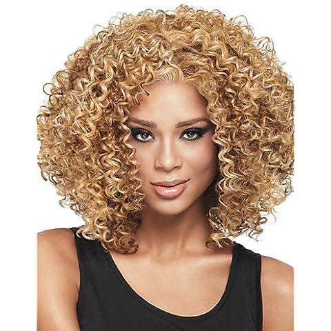 BBDM europea ed americana nero donne moda cappelli corti capelli