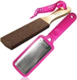 NYK1 MEGA FOOT FILE Professional Pink or Black Rasp THE ORIGINAL now with NYK1 SMOOTHIE Limited Period only for MEN & WOMEN