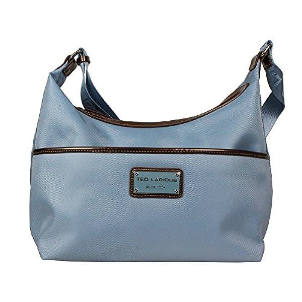 2d7e6ea44 Ofertas para comprar online Bolso de mano Ted Lapidus (Bolso de asas para  mujer azul claro)