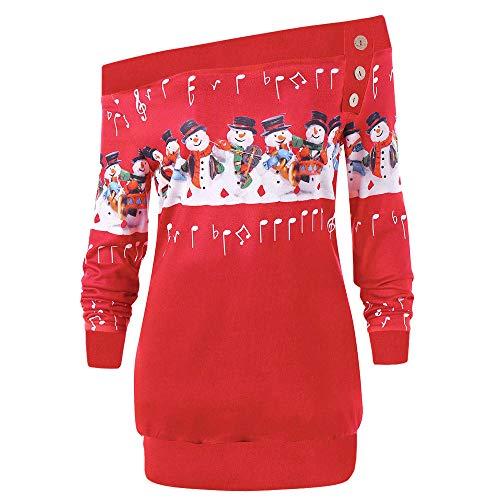 Weihnachten T Shirt Womens Frohe Weihnachten Jumper Plus -