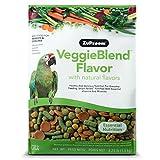 Zupreem veggieblend All Natural Carrot Flavor Medium Large Bird Food...