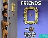 REPLICA del TIMBRE de FRIENDS - serie TV (marco NO incluido) - TE LO ENVIO GRATIS !!! #FriendsFest
