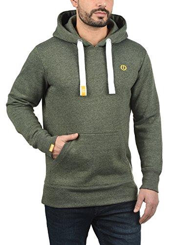 SOLID BennHood Herren Kapuzenpullover Hoodie Sweatshirt aus hochwertiger Baumwollmischung Climb Ivy Melange (8785)