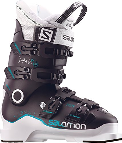 Salomon Botas de esquí para mujer, unisex, negro