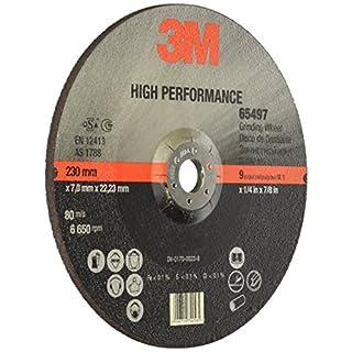 3M 65497 High Performance Schruppscheibe, Typ 27, 230 mm, 7,0 mm, 22,23 mm (10-er Pack)