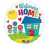 amscan 3368601Welcome Home Ballon en Aluminium