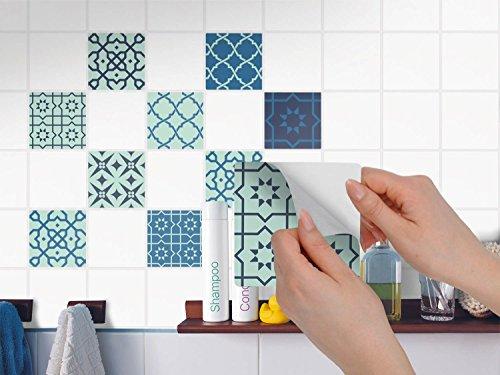 Piastrelle pellicola adesiva bagno sticker adesivo - Adesivi per piastrelle cucina ...