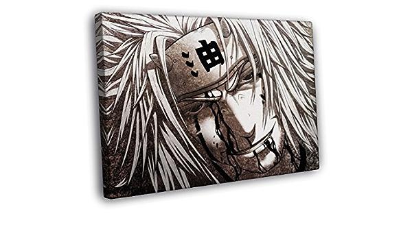 ZYUN 5 Pi/èces Peintures sur Toile Art Mural Akatsuki Naruto Manga Affiche Mural D/écoration Murale Peintures Uchiha Itachi Animation Jeu dart,20/×30/×2+20/×40x2+20x50/×1