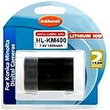 Hahnel Batterie Li-Ion Equivalente Konica-Minolta NP-400 7,4 V 1500 mAh
