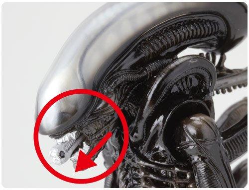 Alien SCI-FI Revoltech Series No.001 Alien Figura De Acción 5