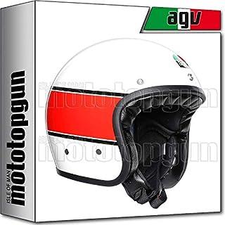 MOTOTOPGUN AGV 210021A2I0-009 JET X70 X-70 MULTI MINO 73 BIANCO-ROSSO S