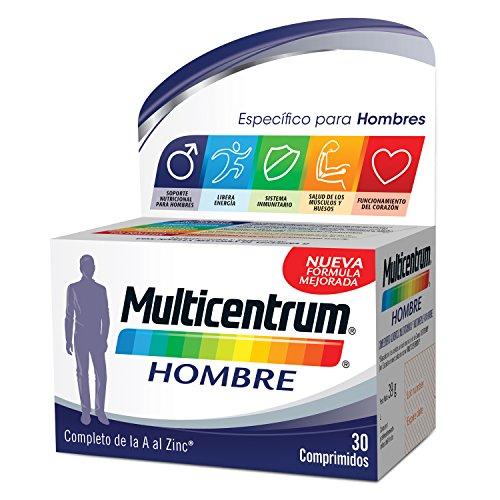 Multicentrum Complemento Alimenticio Hombre - 30 Unidades