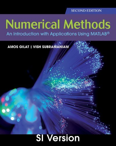 Portada del libro Numerical Methods with MATLAB by Amos Gilat (2011-07-30)