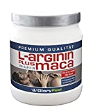 L-Arginine Plus Maca Root Capsules- 300 Highly Dosed and Pure Arginin Powder + Maca Exract Caps - 1.500mg Arginine + 1.200mg Maca per Daily Serving - Backed by Amazon Guarantee