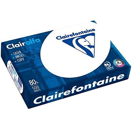 Clairefontaine - Ramette 500 feuilles - Papier 80g - A4 - Blanc
