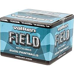 Carton 2000 billes paintball Valken KILO Cal. 50