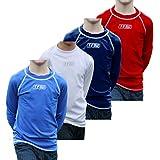 TF Multisport camiseta térmica juvenil Jersey, superior, color Azul - azul real, tamaño XL (13-14 years)