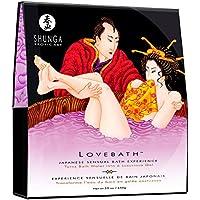 Shunga Love Bath Sensual Lotus, Color Lila - 650 gr