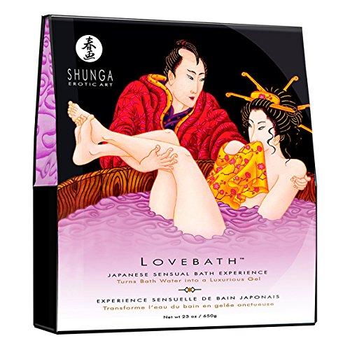 SHUNGA Lovebath Sensual Lotus, 650 g