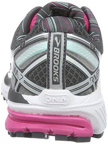 Brooks Ravenna 7, Chaussures de Running Compétition Femme Multicolore (Fuchsia Purple/Anthracite/Cockatoo)