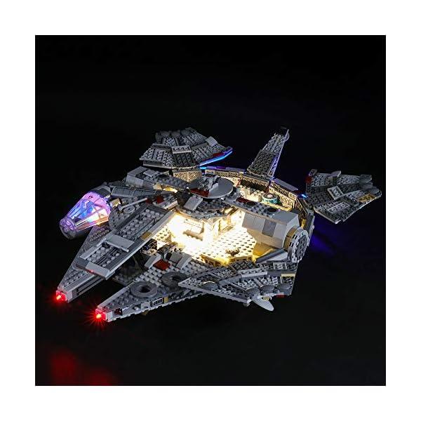 BRIKSMAX Kit di Illuminazione a LED per Lego Starwars Millennium Falcon,Compatibile con Il Modello Lego 75257 Mattoncini… 3 spesavip
